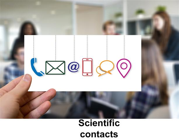 Scientific contacts and bussines partners